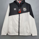 2020 Santos FC Top Black Windbreaker
