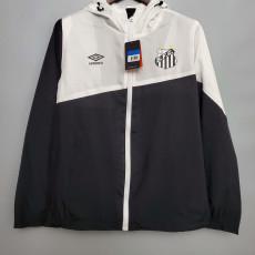 2020 Santos FC Top White Windbreaker