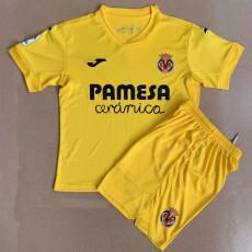 20-21 Villarreal Home Kids Soccer Jersey