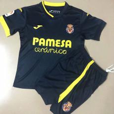 20-21 Villarreal Away Kids Soccer Jersey
