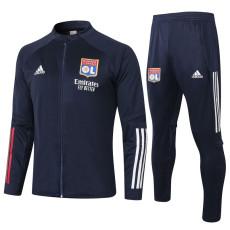 20-21 Lyon Dark Blue Jacket Tracksuit