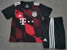20-21 Bayern Third Kids Soccer Jersey