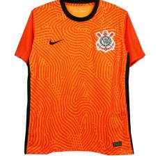 2020 Corinthians Orange Goalkeeper Soccer Jersey