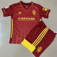 20-21 Zaragoza Away Red Kids Soccer Jersey