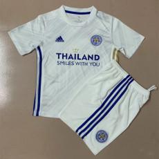 20-21 Leicester City Away Kids Soccer Jersey