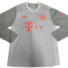 20-21 Bayern Away Long Sleeve Soccer Jersey