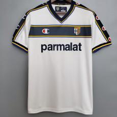 2002-2003 Parma Away Retro Soccer Jersey