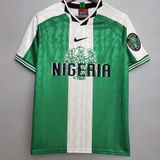 1996 Nigeria Home Retro Soccer Jersey