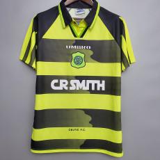 1996-1997 Celtic Away Retro Soccer Jersey