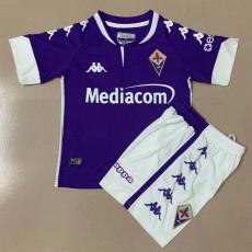 20-21 Fiorentina Home Kids Soccer Jersey
