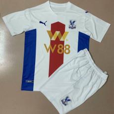 20-21 Crystal Palace Away Kids Soccer Jersey