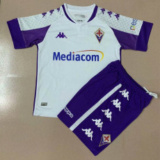20-21 Fiorentina away Kids Soccer Jersey