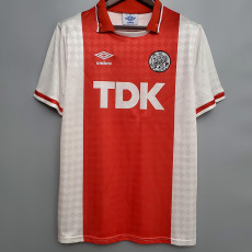 1990-1992 Ajax Home Retro Soccer Jersey