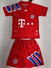 20-21 Bayern Humanrace Version Kids Soccer Jersey
