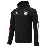 20-21 Bayern Black Windbreaker