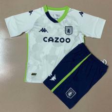 20-21 Aston Villa Third Kids Soccer Jersey