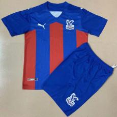 20-21 Crystal Palace Home Kids Soccer Jersey