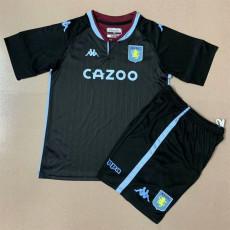 20-21 Aston Villa Away Kids Soccer Jersey