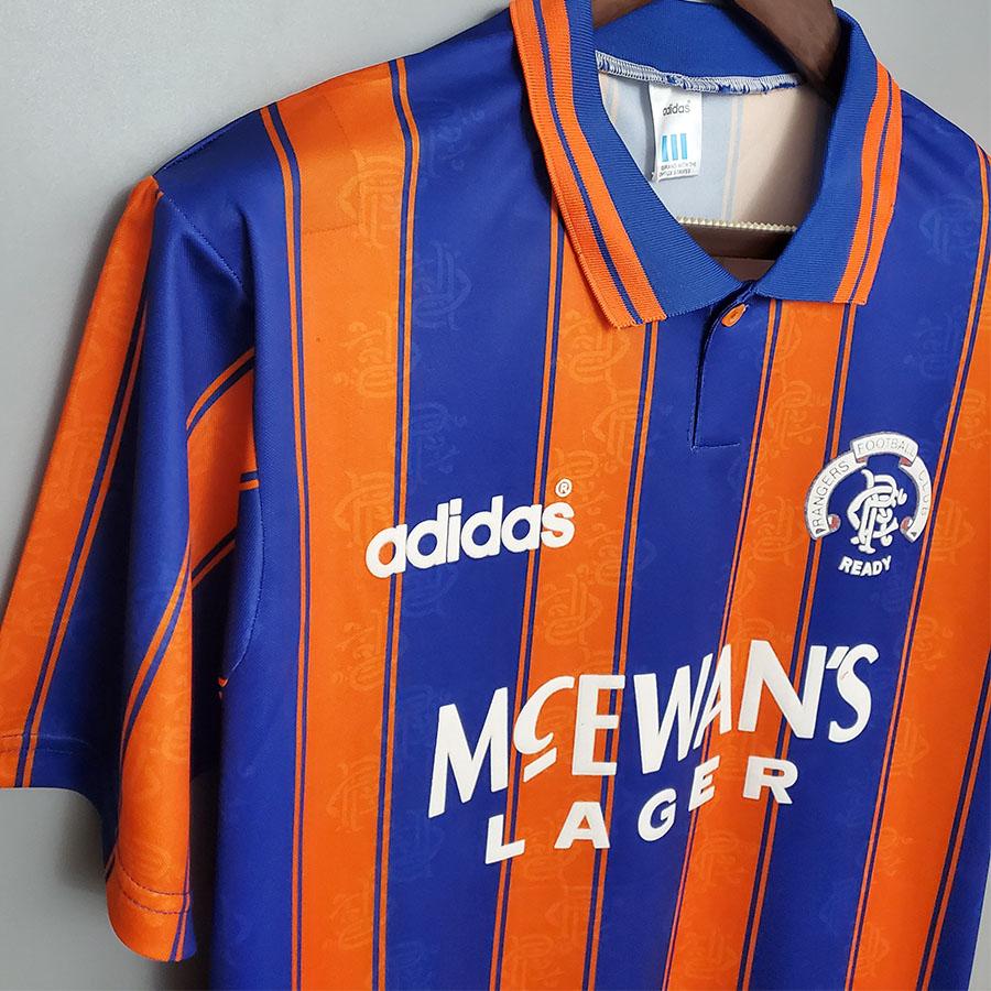 US$ 19.00 - 1993-1994 Rangers Away Retro Soccer Jersey - m.kkgol.com