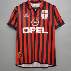 1999-2000 ACM Home Retro Soccer Jersey