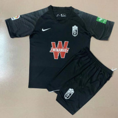 20-21 Granada Away Black Kids Soccer Jersey