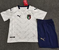 2020 Italy Away Kids Soccer Jersey