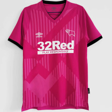 20-21 Derby County Away Pink Fans Soccer Jersey