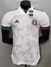 2020 Mexico Away Player Version Soccer Jersey