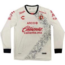 20-21 Tijuana Away White Long Sleeve Soccer Jersey