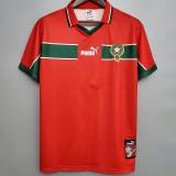 1998 Morocco Away Retro Soccer Jersey