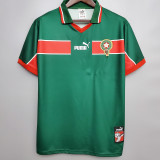 1998 Morocco Home Retro Soccer Jersey