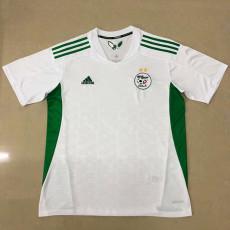 20-21 Algeria Home White Fans Soccer Jersey