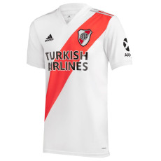 20-21 River Plate 1:1 Home White Fans Soccer Jersey