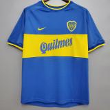 1999-2000 Boca Juniors Home Retro Soccer Jersey