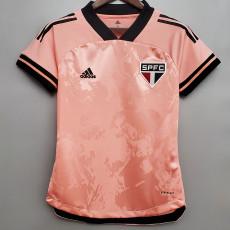 2020 Sao Paulo Pink Women Soccer Jersey