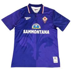 1995-1997 Fiorentina Home Retro Soccer Jersey