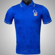 1994 Italy Home Blue Retro Soccer Jersey
