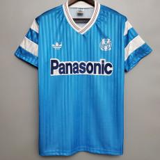 1990 Marseille Away Retro Soccer Jersey