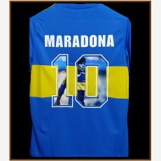 MARADONA #10 Boca Juniors Home Retro Soccer Jersey 1981(记念号码)
