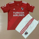 20-21 River Plate Away Red Kids Soccer Jersey