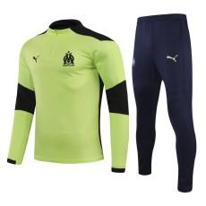 20-21 Marseille Fluorescent Green Half Pull Sweater Tracksuit
