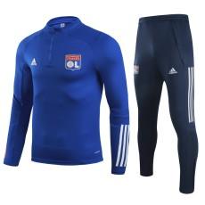 20-21 Lyon Blue Half Pull Sweater Tracksuit