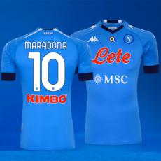 MARADONA #10 Napoli Home Fans Soccer Jersey 2020/21