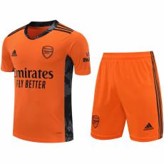 20-21 ARS Orange GoalKeeper Soccer Jersey(Full Sets )