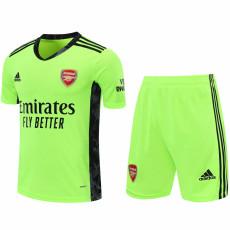 20-21 ARS Green GoalKeeper Soccer Jersey(Full Sets )