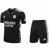 20-21 ARS Black GoalKeeper Soccer Jersey(Full Sets )