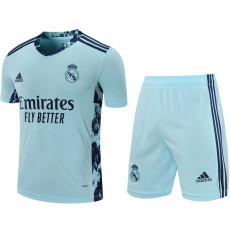 20-21 RMA Home Goalkeeper Soccer Jersey(Full Sets)