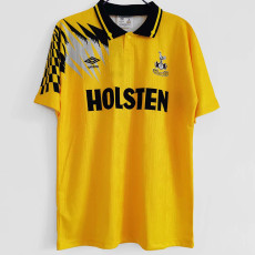 1992-1994 TOT Yellow Retro Soccer Jersey
