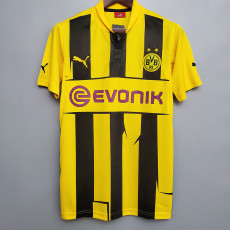 2012-2013 Dortmund Home Retro Soccer Jersey