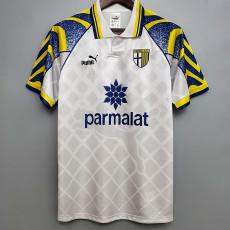 1995-1997 Parma White Retro Soccer Jersey